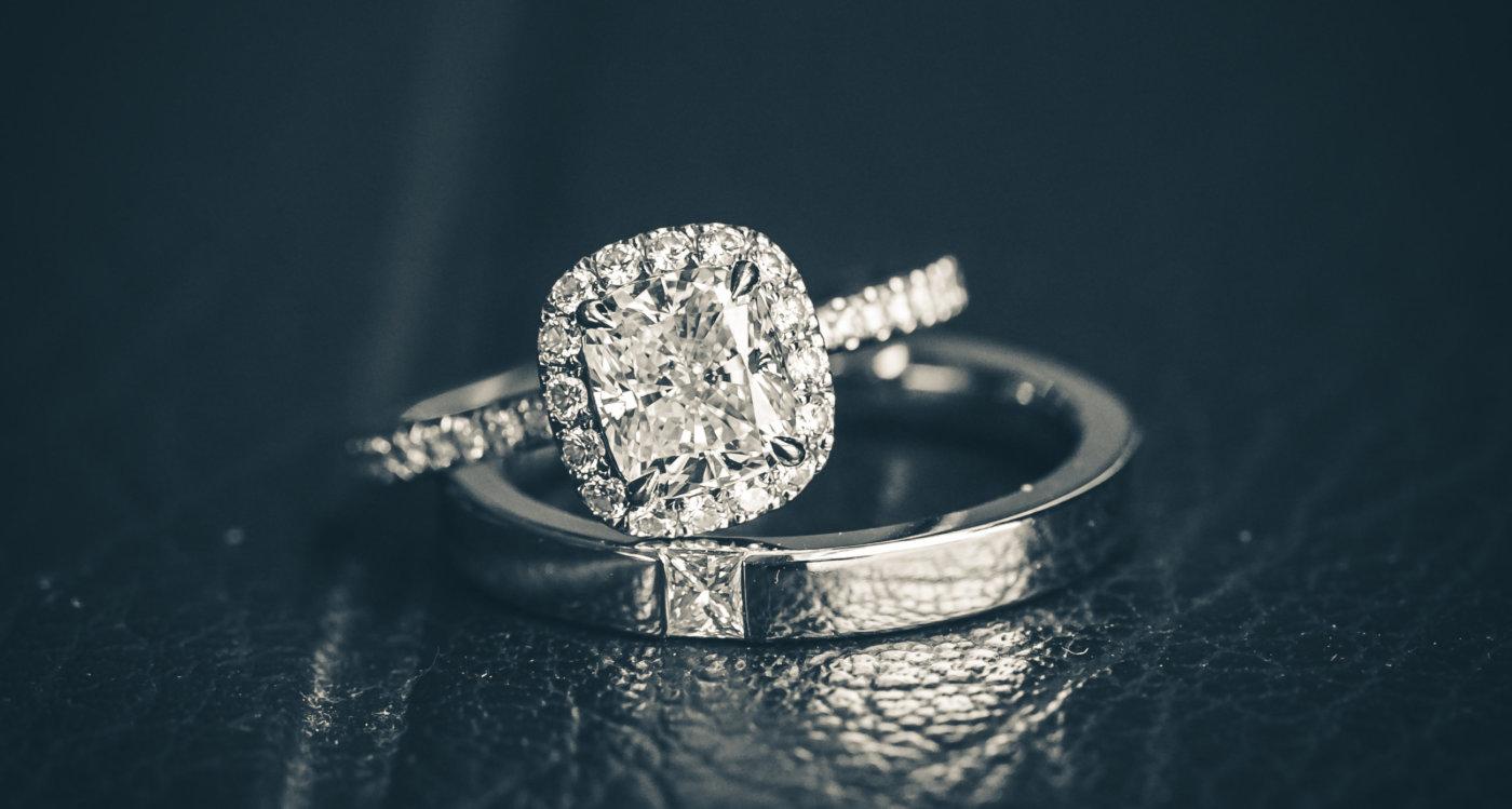 Trauringe Eheringe Kassel Weißgold Diamanten